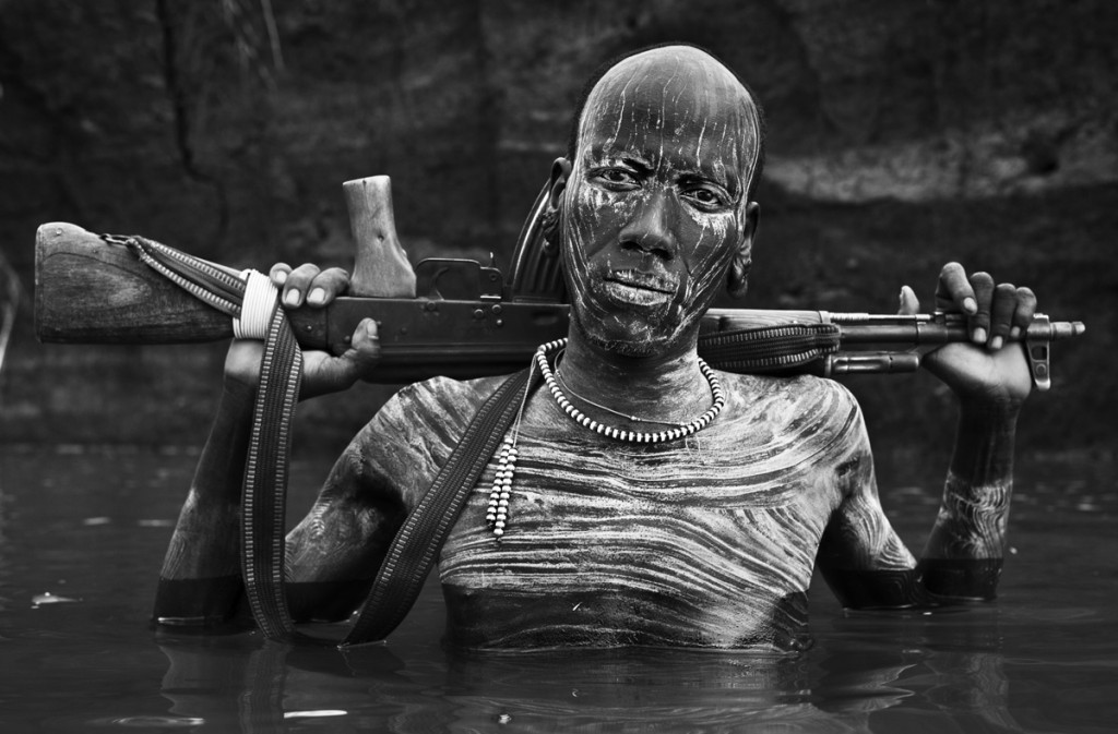 Omo Warrior | David Yarrow