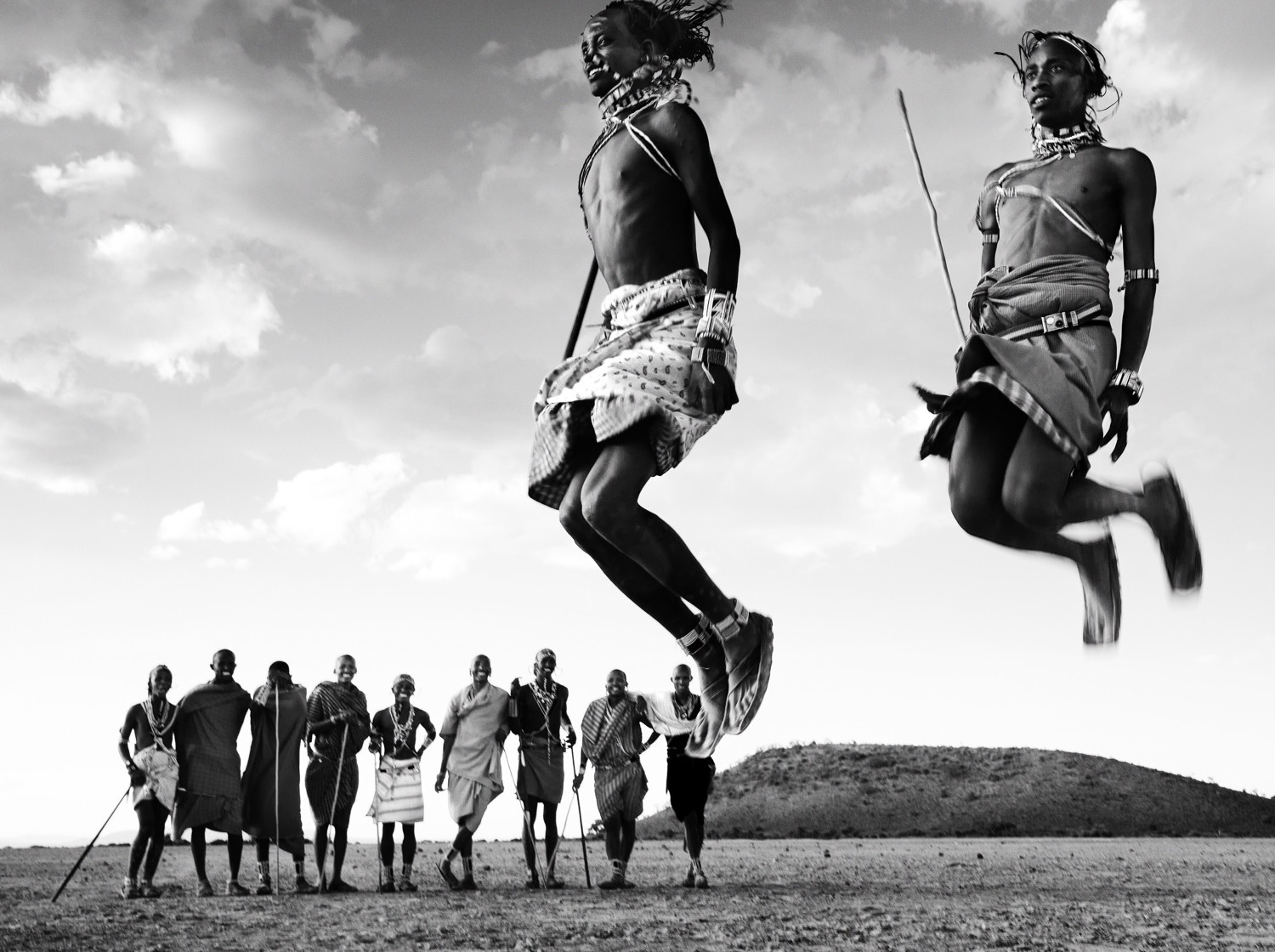 David Yarrow Blog | Adumu Masai Tribe