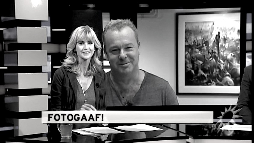 David Yarrow on Dutch TV