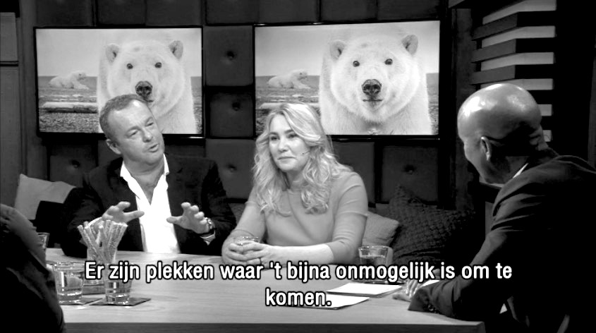 David Yarrow on Dutch TV 2