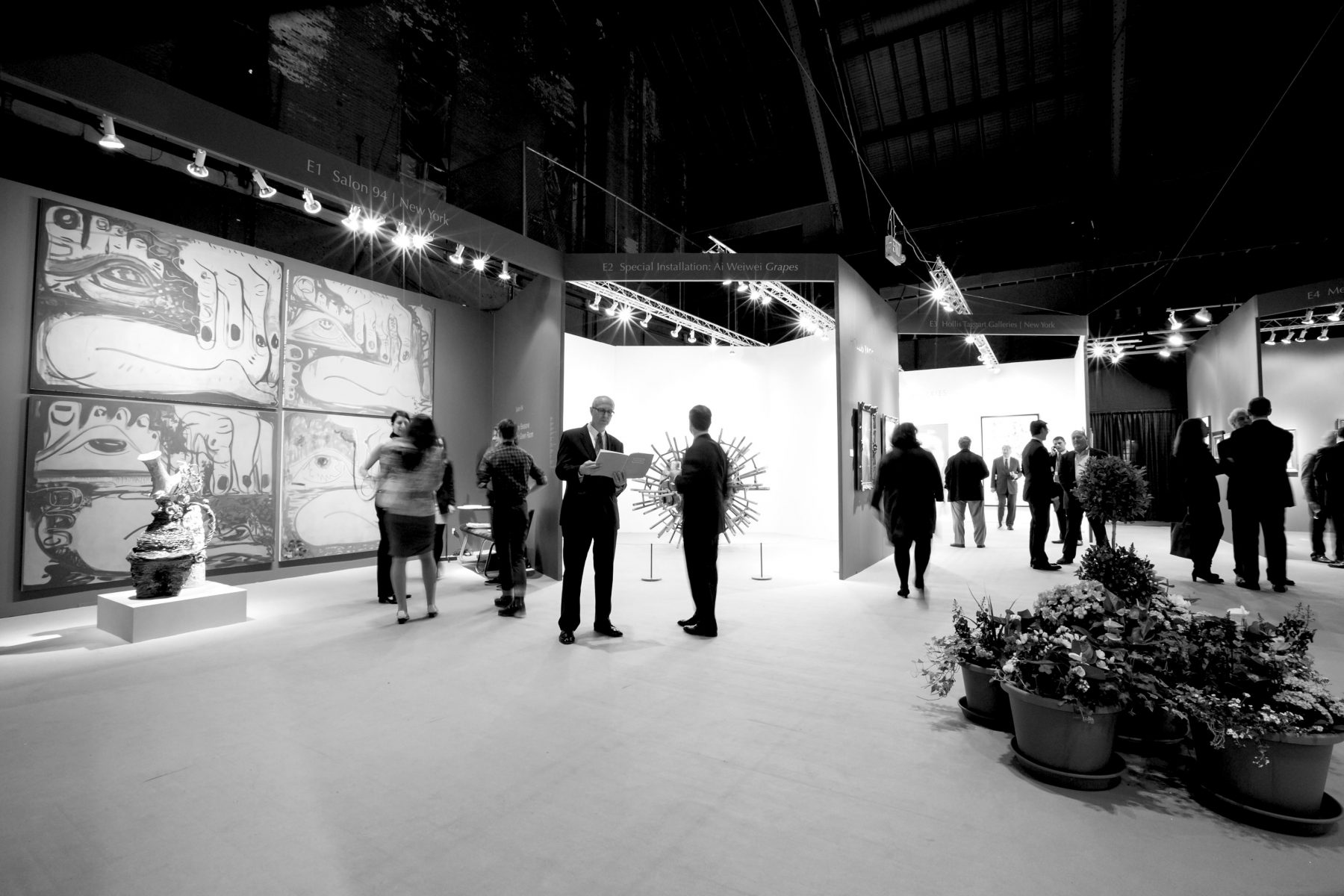 David Yarrow At The Spring Masters Art Fair In NYC With Holden Luntz Gallery