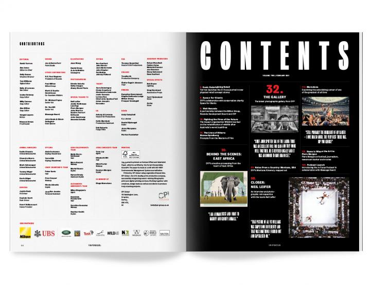In Focus 13 Contents